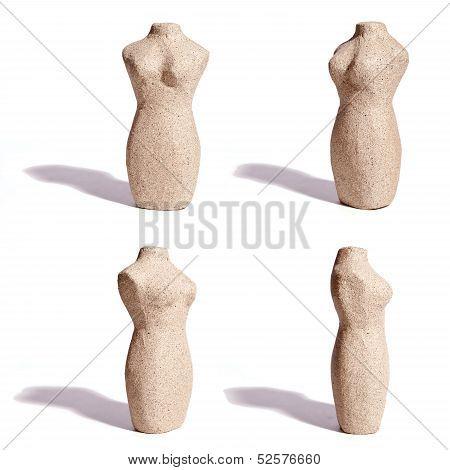 Stone Textured Torso