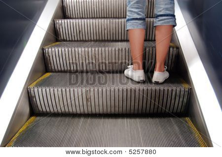Escalator Leading Up