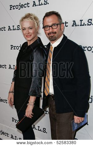 NEW YORK- OCT 17: Nancy and Andrew Jarecki attend the Project A.L.S. 15th Anniversary benefit at Roseland Ballroom on October 17, 2013 in New York City.