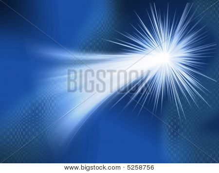 Abstract Shooting Star Background