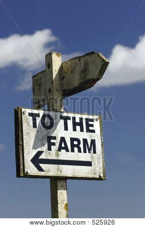 Naar de boerderij
