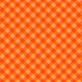 seamless texture of orange to red blocked tartan cloth poster