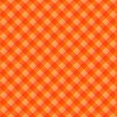 seamless texture of orange to red blocked tartan cloth poster