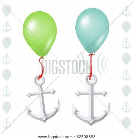 Conceptual balance between balloon and anchor