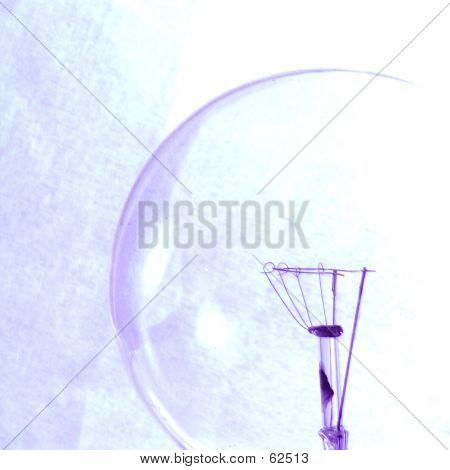Bulb Filament Close-up