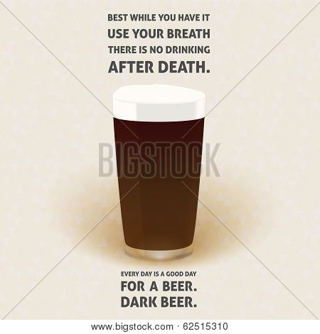 No Drinking After Death