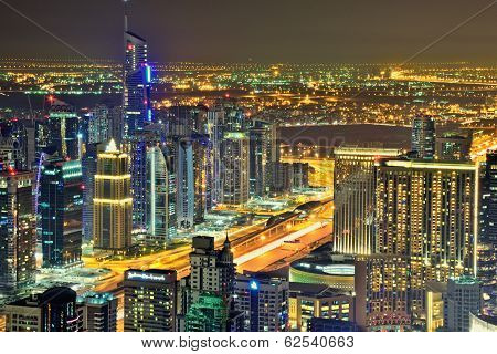 Dubai Marina and JBR