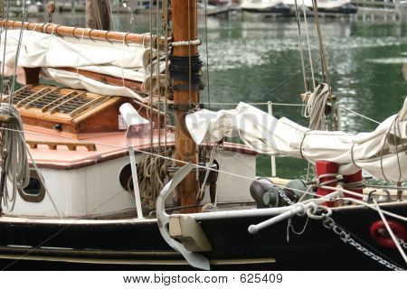 Sailboat Close-Up