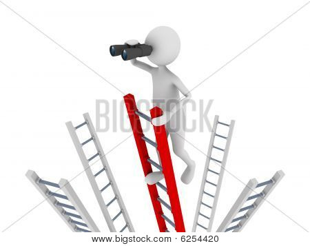 Searching Off The Ladder