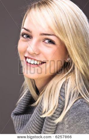 Sweet Blond Portrait