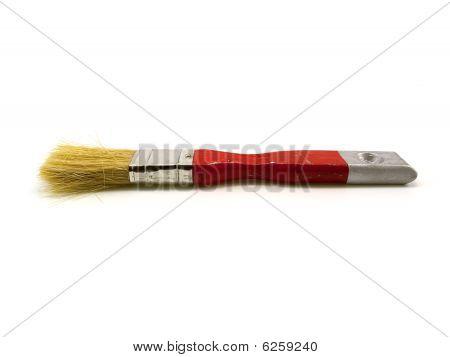 Red Painting Brush