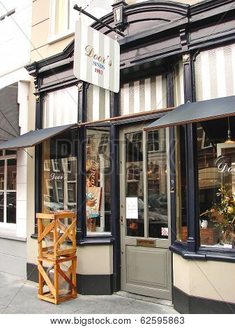 Shop Design In The Dutch Town Of Heusden.
