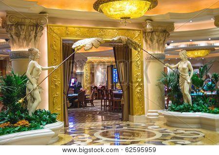 Casino In Caesar's Palace In Las Vegas