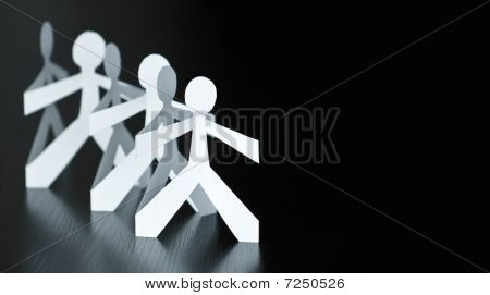 paper hubbies building a team