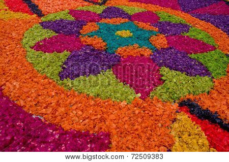 easter carpets in antigua guatemala