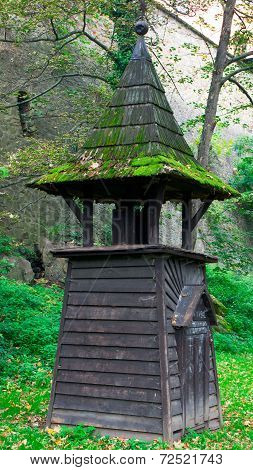 Small wooden chapel