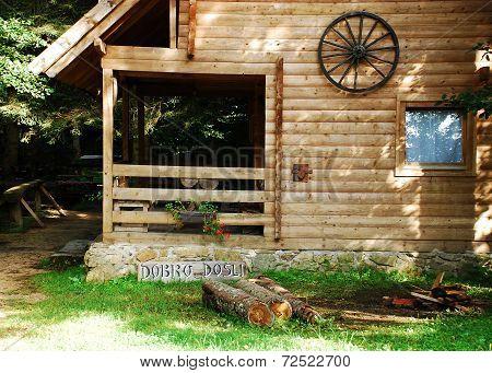 Bosnian Forest Hut