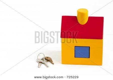 Toy House And Keys