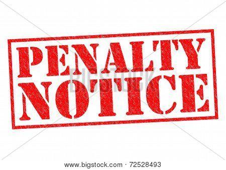 Penalty Notice