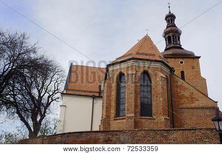 Gothic parish church