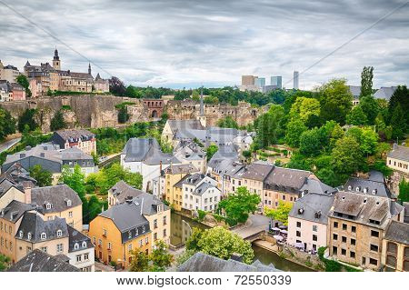Luxembourg City Architecture