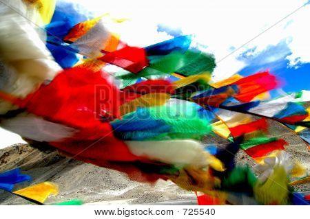 Prayer Flags-blur