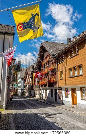 In The Streets Of Andermatt