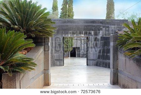 Rothschild Family Tomb In Ramat Hanadiv, Israel
