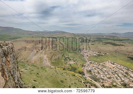 Arbel Cliffs, Jesus Trail, Arbel National Park, Israel