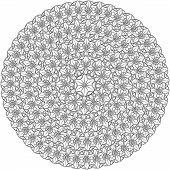 circular pattern poster