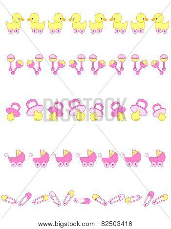 Baby Girl Dividers