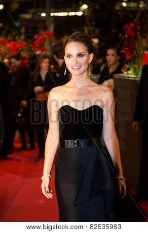 BERLIN, GERMANY - FEBRUARY 08: Actress Natalie Portman attends the 'Knight of Cups' premiere. 65th Berlinale International Film Festival at Berlinale Palace on February 8, 2015 in Berlin, Germany.