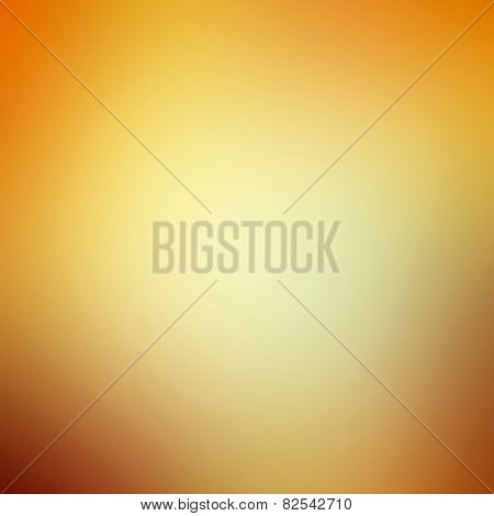 Colorful Sky After Sunset, Background Color Gradient From Dark Orange To Bright Yellow