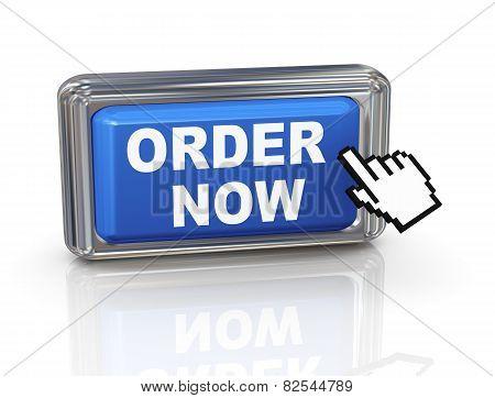 3D Hand Cursor Button - Order Now