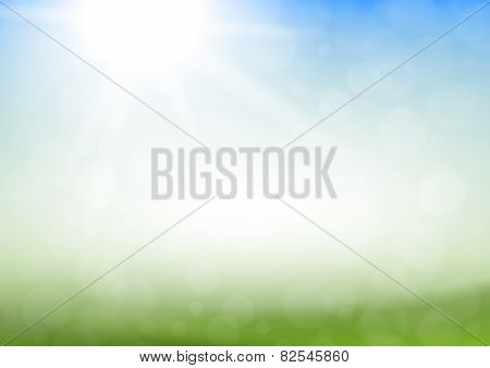 Abstract Vector Spring Summer Background