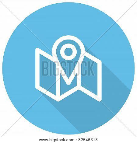 Local SEO Local search engine optimization modern vector icon poster
