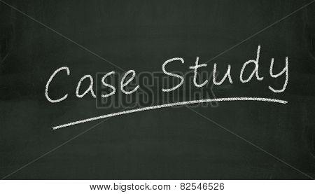 Chalkboard Case Study Illustration