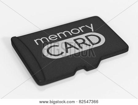 MicroSD memory card.