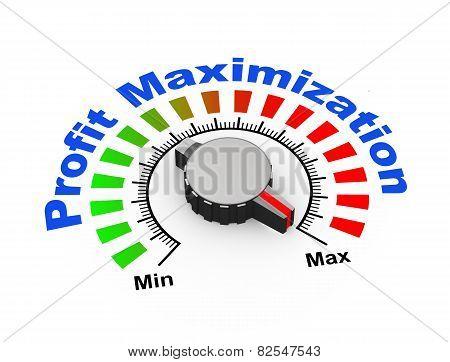 3D Knob - Profit Maximization