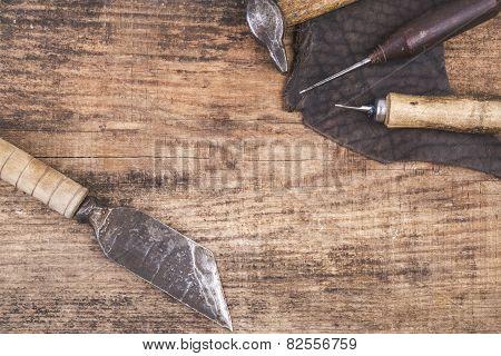 leathher tools