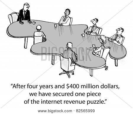 Internet Revenue Puzzle