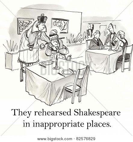 Shakespeare Rehearsal