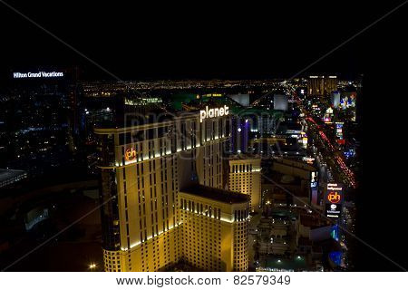 View From The Top Of Las Vegas