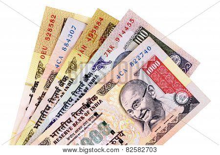Indian Rupee Currency Bills