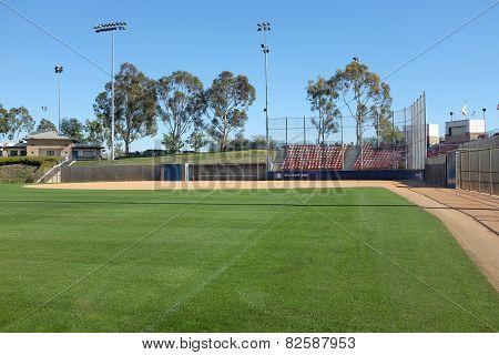 Deanna Manning Stadium From Left Field Line