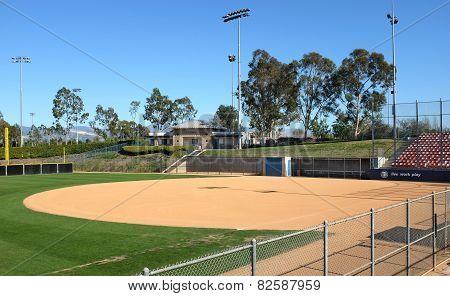 Infield Deanna Manning Stadium