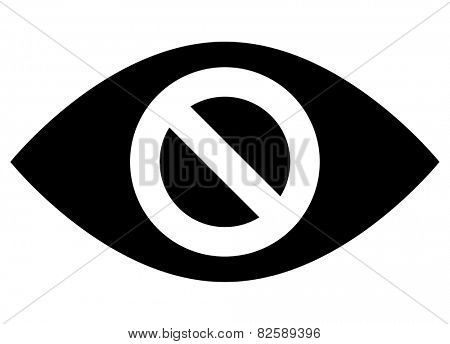 Do not spy icon
