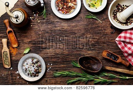 Spices For Use As Cooking Ingredients