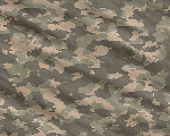 a modern digital camoflage pattern material background poster
