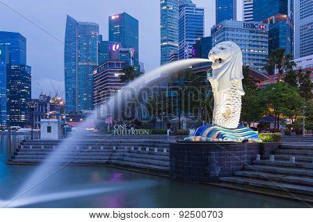 Merlion of Singapore